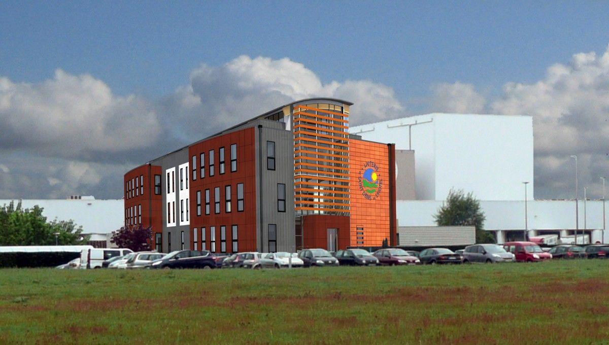 Une extension pour la Laiterie de Saint-Denis-de-L'Hôtel