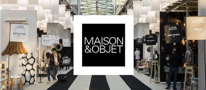 MAISON&OBJET :04/08 septembre 2020, le rendez-vous incontournable des professionnels de l'art de vivre