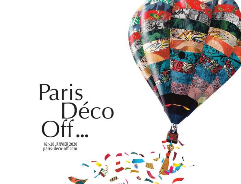 PARIS DECO OFF : 16/20 janvier 2020, l'évènement majeur pour les nouveautés textiles, papier peints, peinture, décoration…